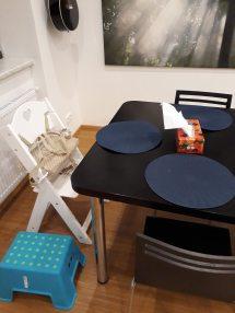 Rostoucí židlička