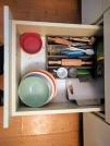 Šuplík s potřebami na vaření